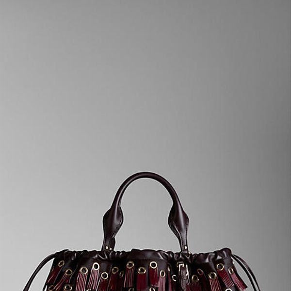 Burberry  Big Crush with Fringed Eyelets