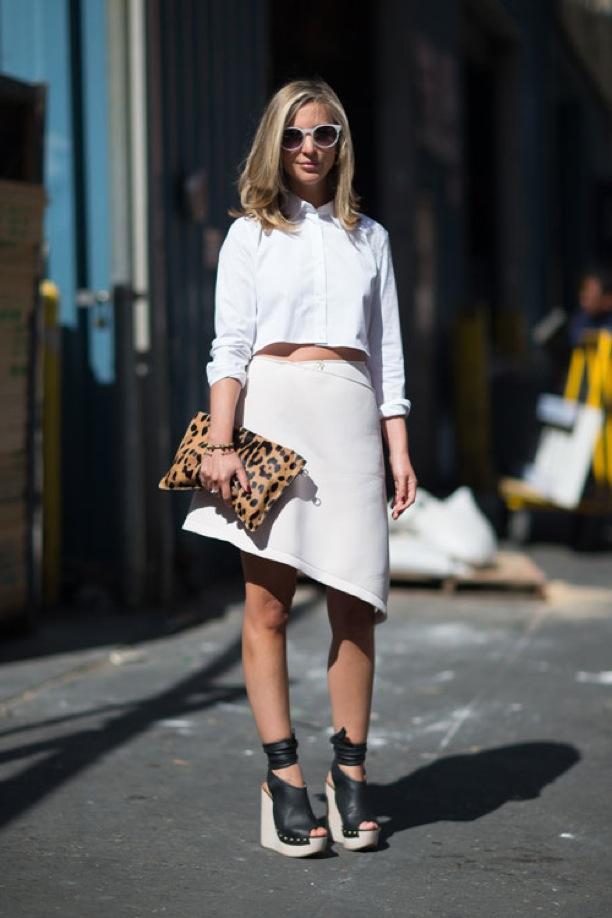 NYFW Street Style: Off White on White