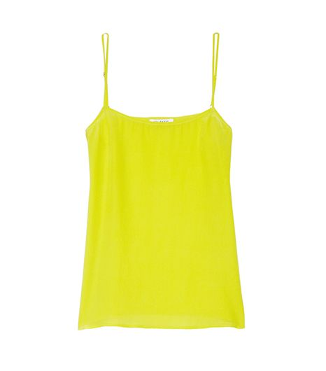 Equipment  Washed-Silk Camisole