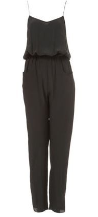 Topshop  Boutique Silk Jumpsuit
