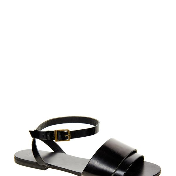 ASOS  Format Leather Flat Sandals