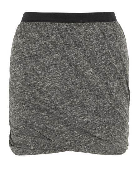 American Vintage  Hot Springs Twisted Jersey Mini Skirt