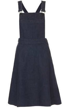 Topshop  Moto Indigo Midi Pini Dress
