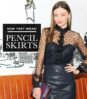 7 Inspiring Ways To Wear Your Old Pencil Skirt