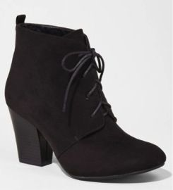 Express  Heeled Desert Booties