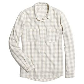 Madewell Madewell Flannel Popover Shirt