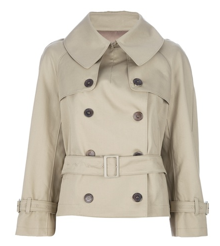 Golden Goose Deluxe Brand Cropped Trench Coat
