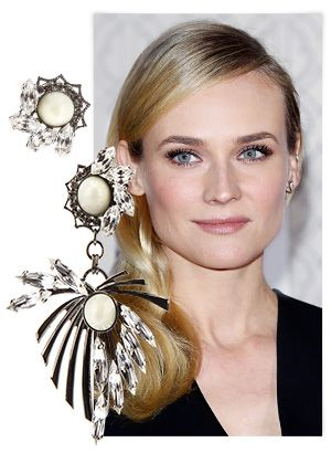 Mismatched Earrings: The Trend Diane Kruger And More Are Trying