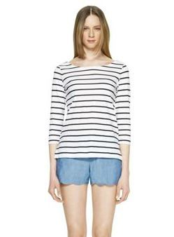 Club Monaco  Elena Striped Top