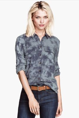 H&M Long-Sleeved Shirt