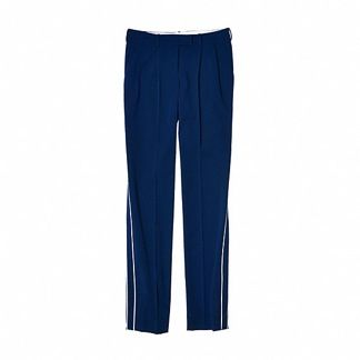 Reed Krakoff  Slim Pant with Tuxedo Stripe Pant