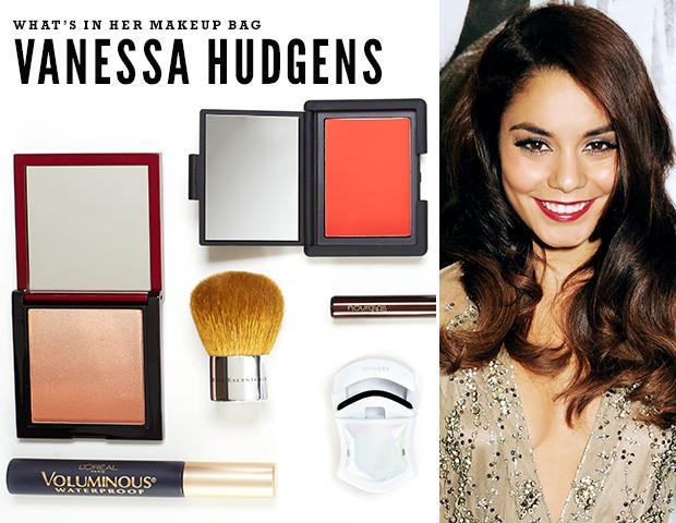 Vanessa Hudgens Spills The Contents of Her Makeup Bag