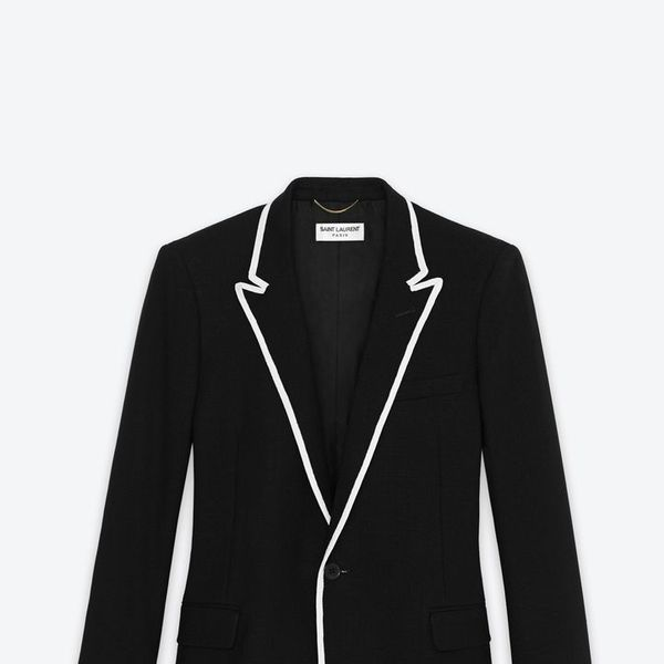 Saint Laurent   Single-Breasted Veste De Canotier