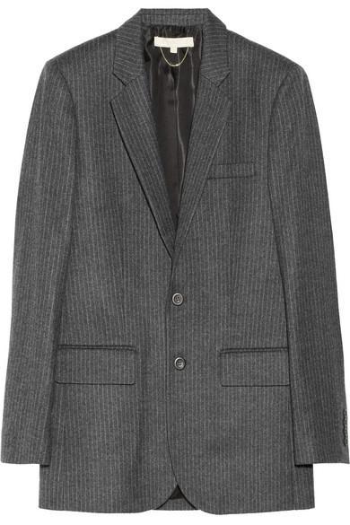 Vanessa Bruno  Pinstripe Wool Blazer