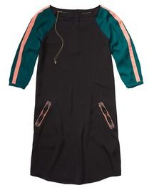 Maison Scotch Maison Scotch Baseball Inspired Colour Block Dress
