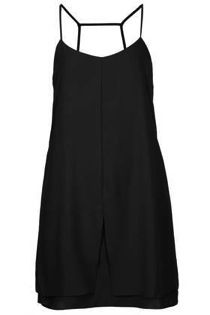 Topshop  Topshop Tall Strap Back Slip Dress