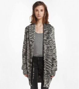 Maje Maje Documenta Oversized Cardigan