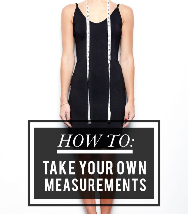 Online Shopping 101: How to Take Your Own Measurements