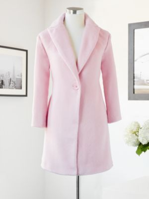 New York & Company  Eva Mendes Collection Milano One Button Coat