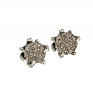 Lauren Wolf   Lauren Wolf Druzy Studs with Stingray Claws