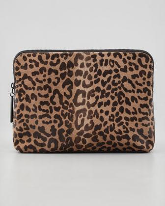 3.1 Phillip Lim   31 Minute Colorblock Calf Hair Clutch Bag