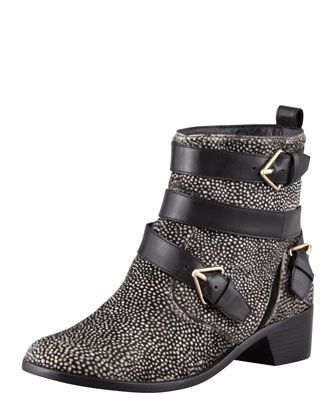 10 Crosby Derek Lam   Colleen Printed Calf Hair Boot