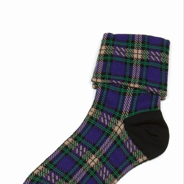 Tabio Plaid Socks