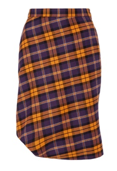 Vivienne Westwood  Short Purple Tartan Skirt