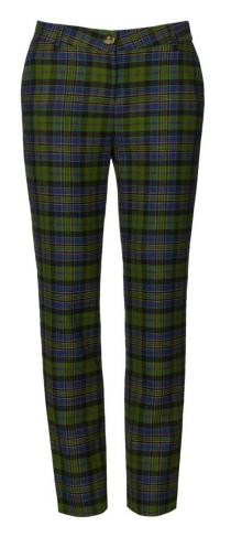 Vivienne Westwood   Multicolor Tartan Trousers