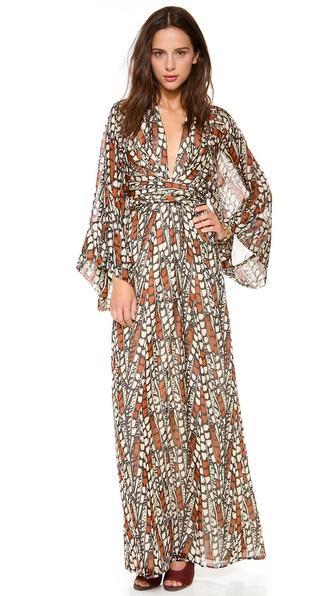 Issa  Long Kaftan Dress