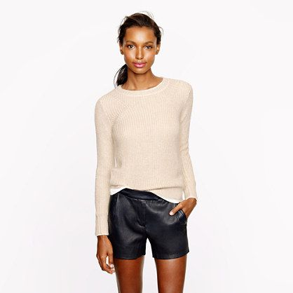 J.Crew Collection Silk-Mohair Sweater