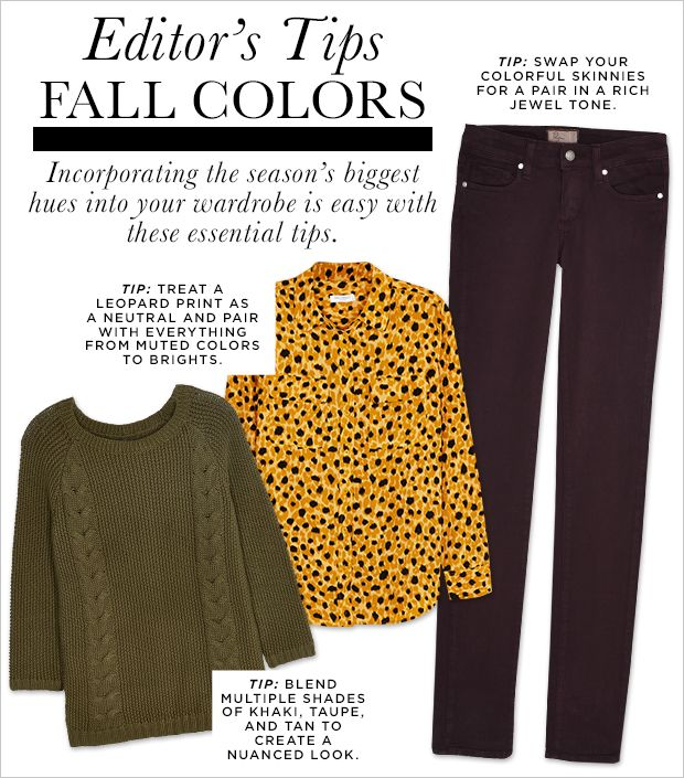 Incorporate Fall Colors Into Your Wardrobe With Affordable Finds From Marshalls