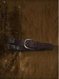 Denim & Supply Ralph Lauren Denim & Supply Ralph Lauren Leather Hinged Concho Belt