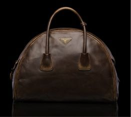 Prada  Prada Vintage Calf Leather Top Handle Bag