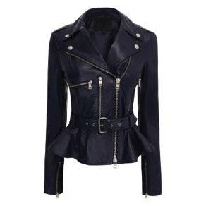 McQ Alexander McQueen McQ Alexander McQueen Leather Biker Jacket