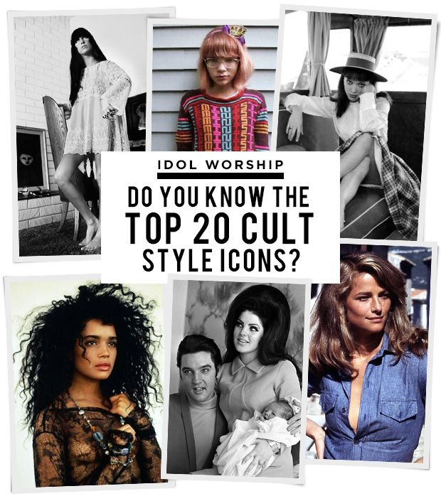 Fashion IQ: How Well Do You Know Your Cult Style Icons?