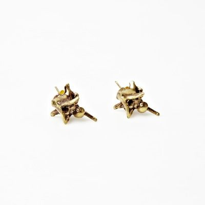 Bones and Feathers Collective   Bones and Feathers Collective Snake Studs