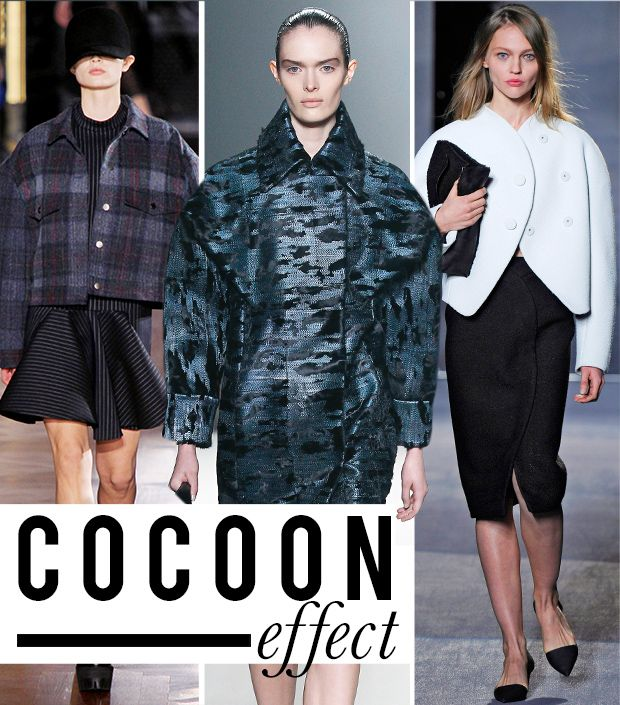 Cocoon Coats: The Silhouette We're Loving For Fall
