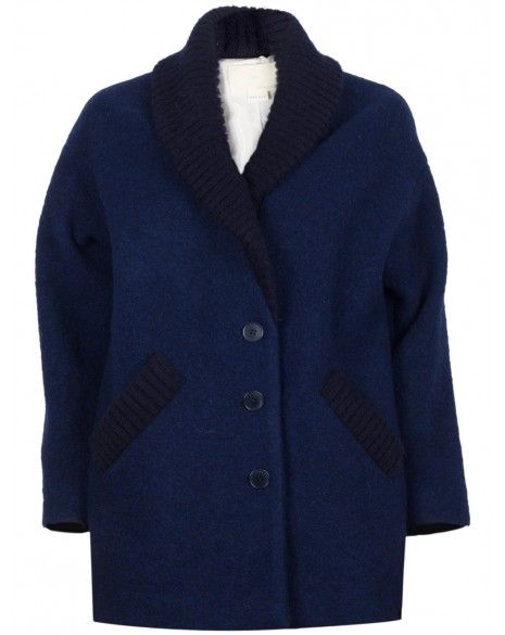 Band of Outsiders  Blanket Neck Coat