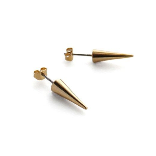 Noir  Noir Small Cone Earrings