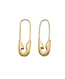 Tom Binns Tom Binns Extra Small Safety Pin Earrings