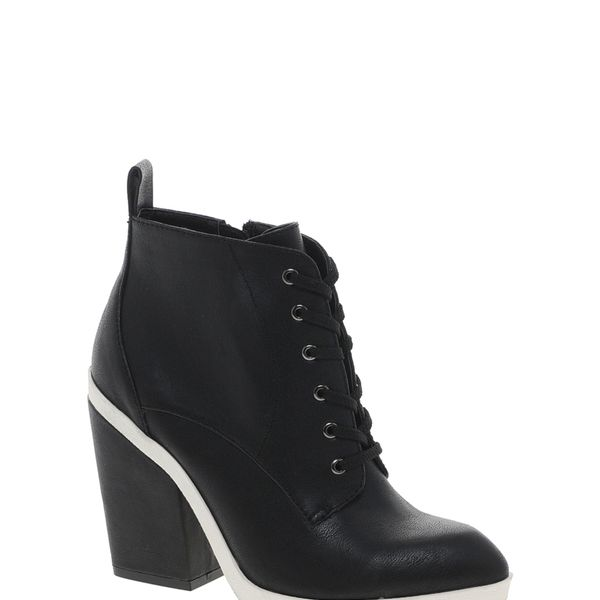 Faith Staines  Lace Up Heeled Ankle Boots
