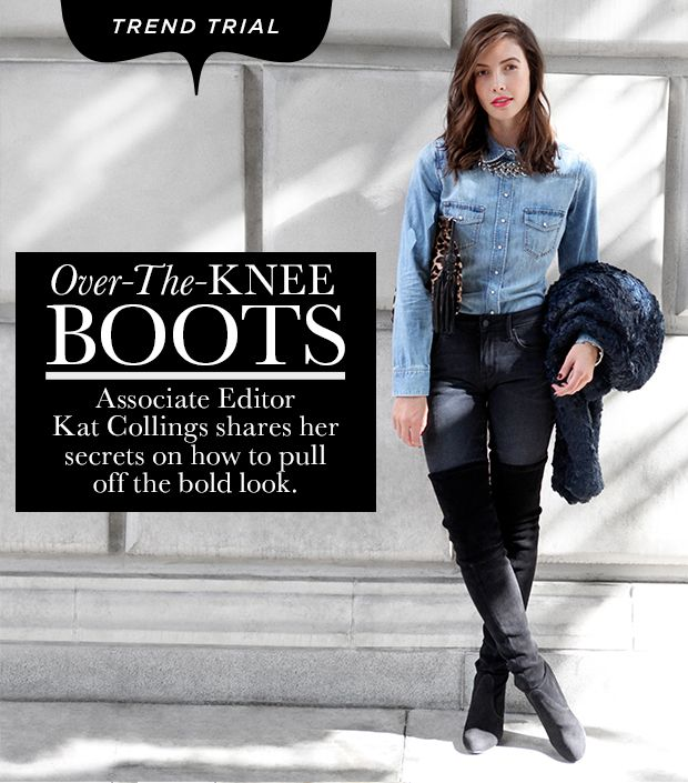 How To Wear Over-The-Knee Boots The Right Way