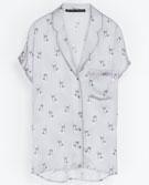 Zara   Zara Printed Blouse