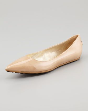 Jimmy Choo  Jimmy Choo Glenda Pointed Toe Ballet Flat