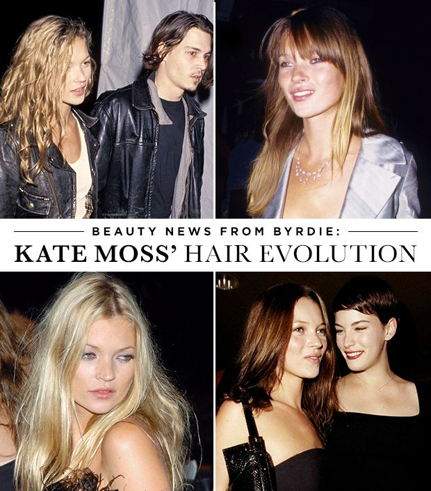 Kate Moss: The Supermodel's Most Memorable Hair From 1990 To Now