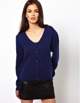 Storm and Marie  Cardigan with Detailed Sleeves