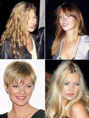 Kate Moss' Hair: From Rockstar, to Pixie, to Bardot, and Beyond