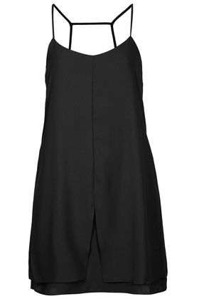 Topshop  Strap Back Slip Dress