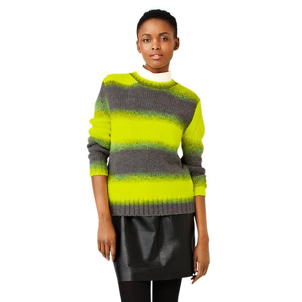 Kate Spade Saturday Ombre Crewneck Sweater
